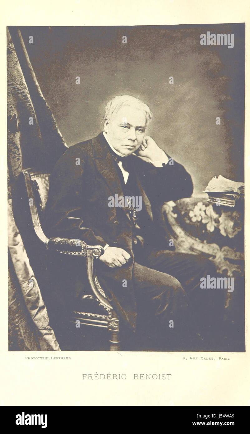 Avis historique et statistique sur Lizy-sur-Ourcq. [Avec un portrait.] Banque D'Images