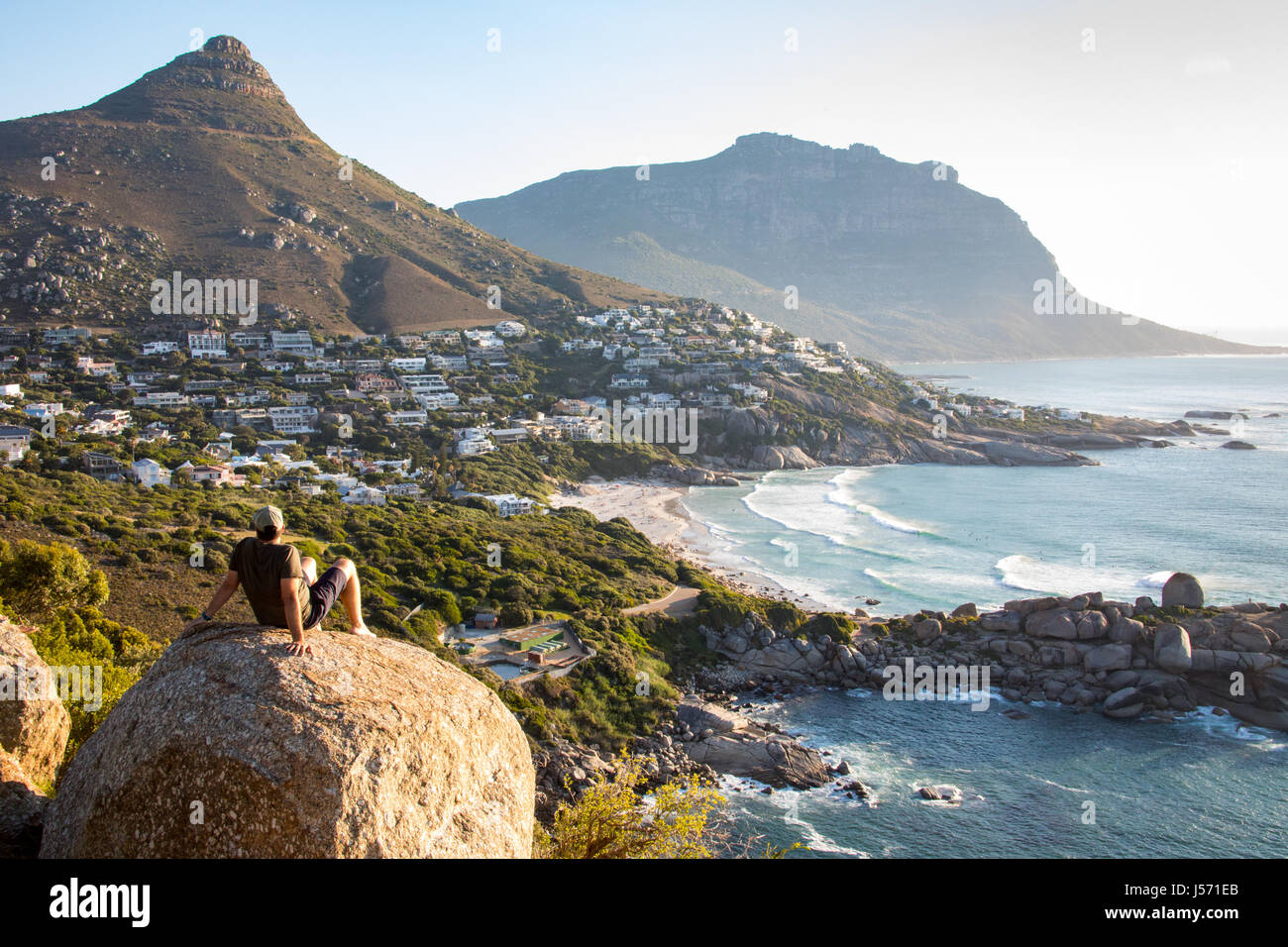 Hout Bay, Cape Town, Afrique du Sud Photo Stock