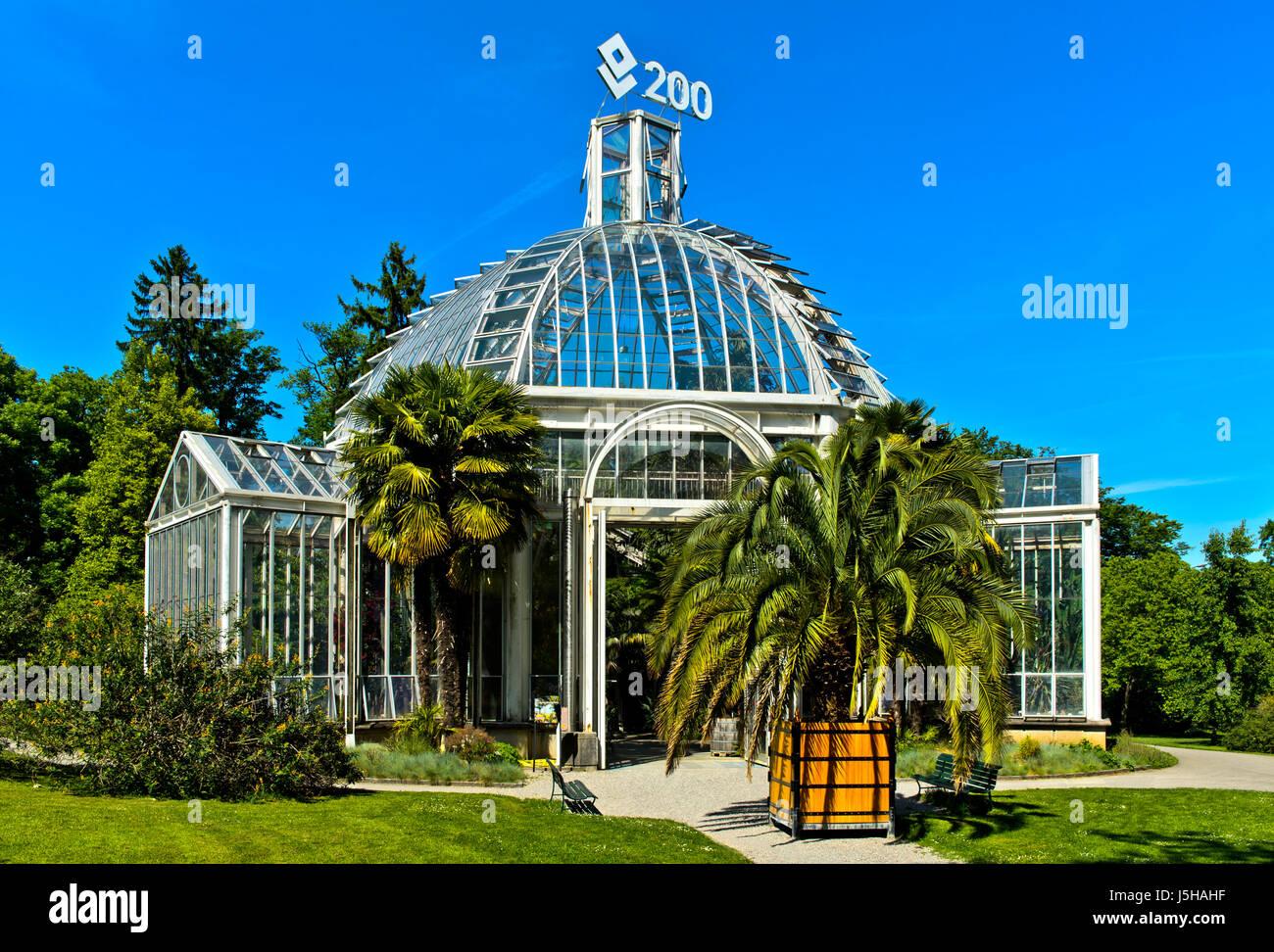 Geneve Suisse 17 Mai 2017 Le Conservatoire Et Jardin Botanique De