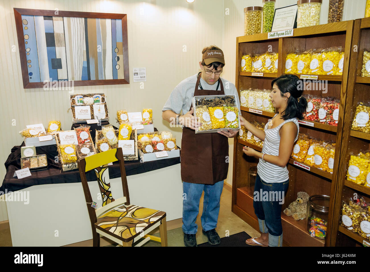 Indiana Valparaiso tout simplement incroyable opportunité de marché entreprises contesté employés Photo Stock