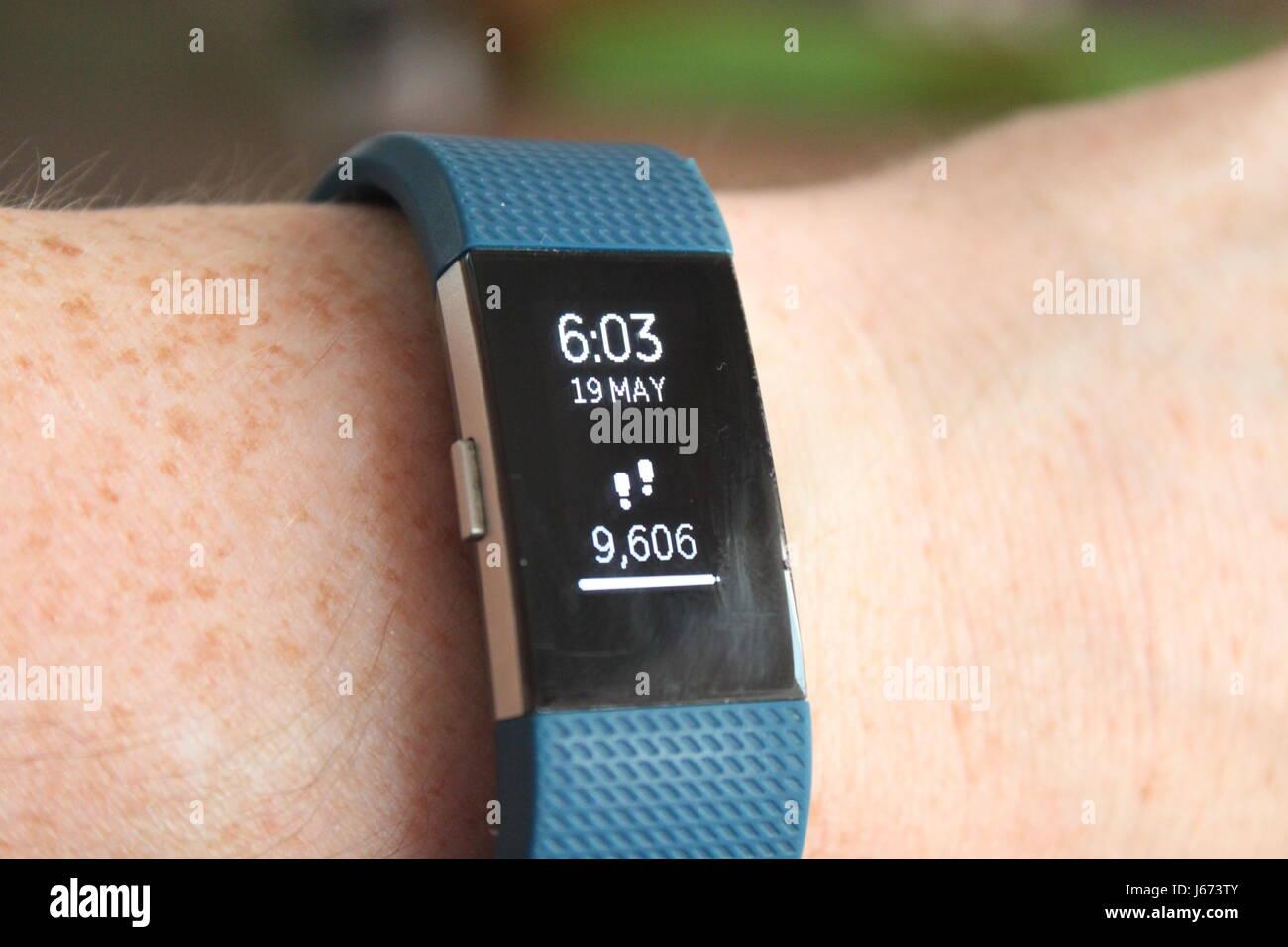 Fitbit Photo Stock