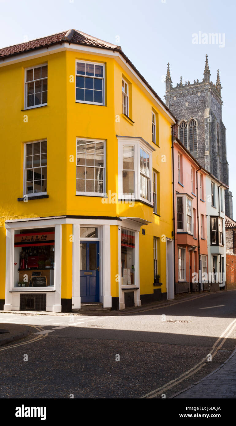 Ruelles de Cromer, Norfolk, England, UK Banque D'Images