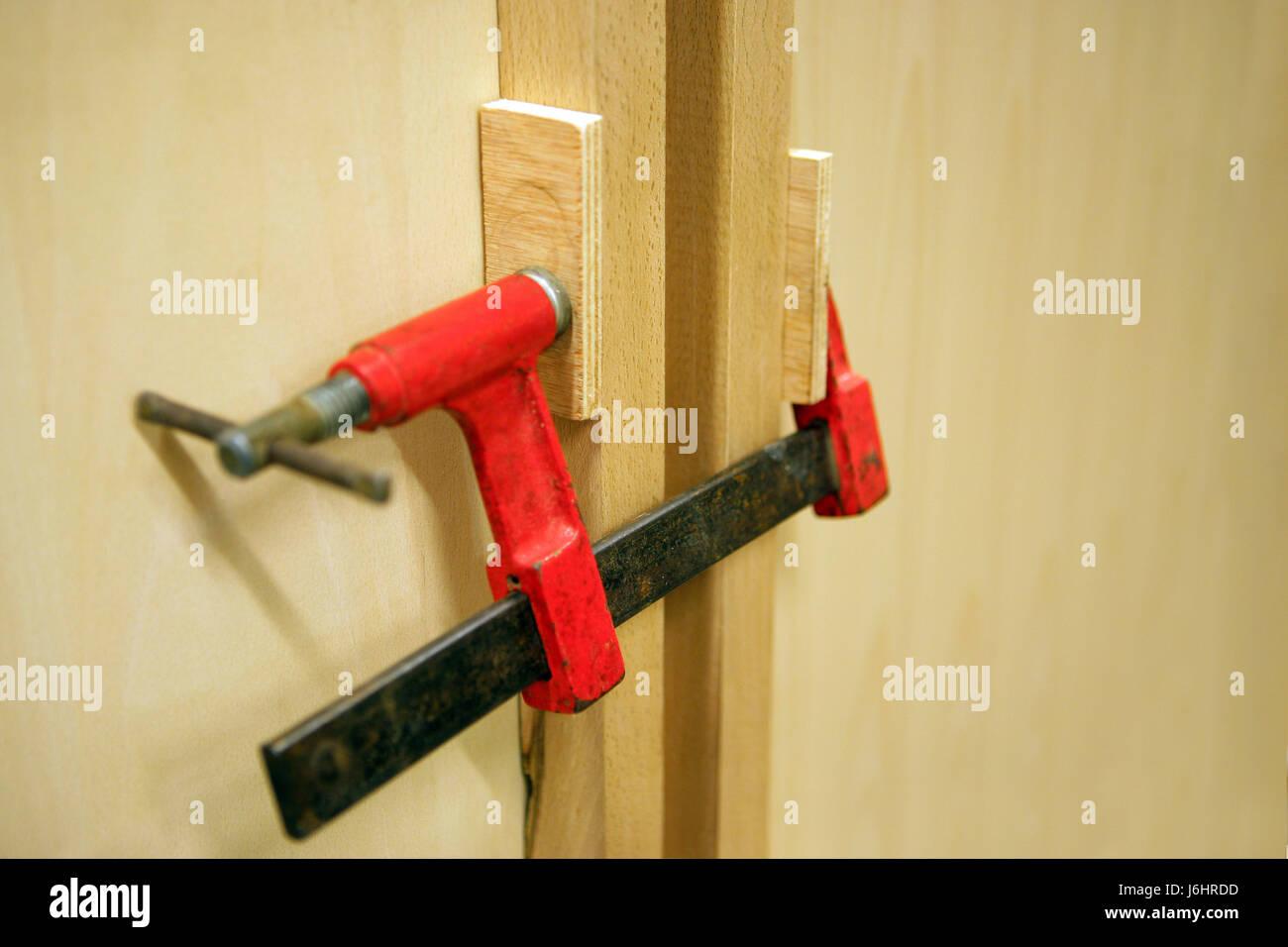 Outil,bois,de l'objet pompe collier Photo Stock