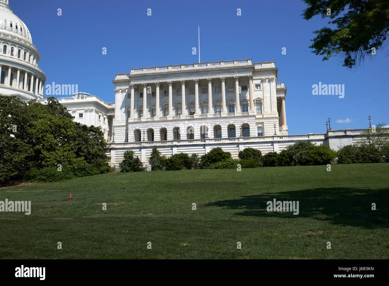 United States Capitol building et chambre des représentants buildnig Washington DC USA Banque D'Images