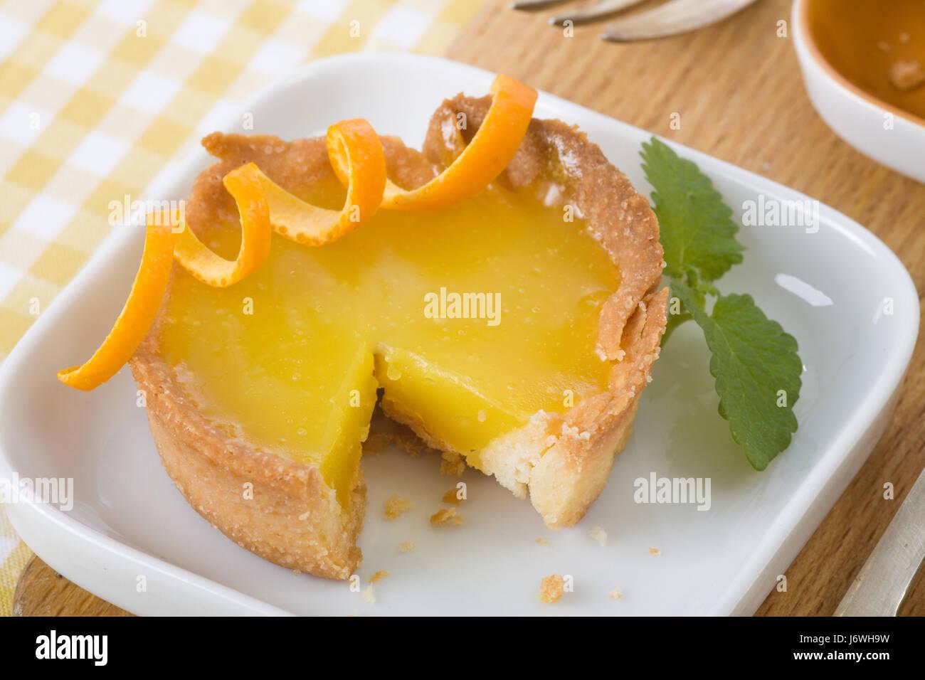 Trois quarts tart Photo Stock