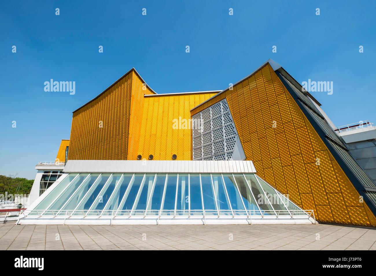 Vue Exterieure De La Salle De Concert Philharmonie De Berlin La
