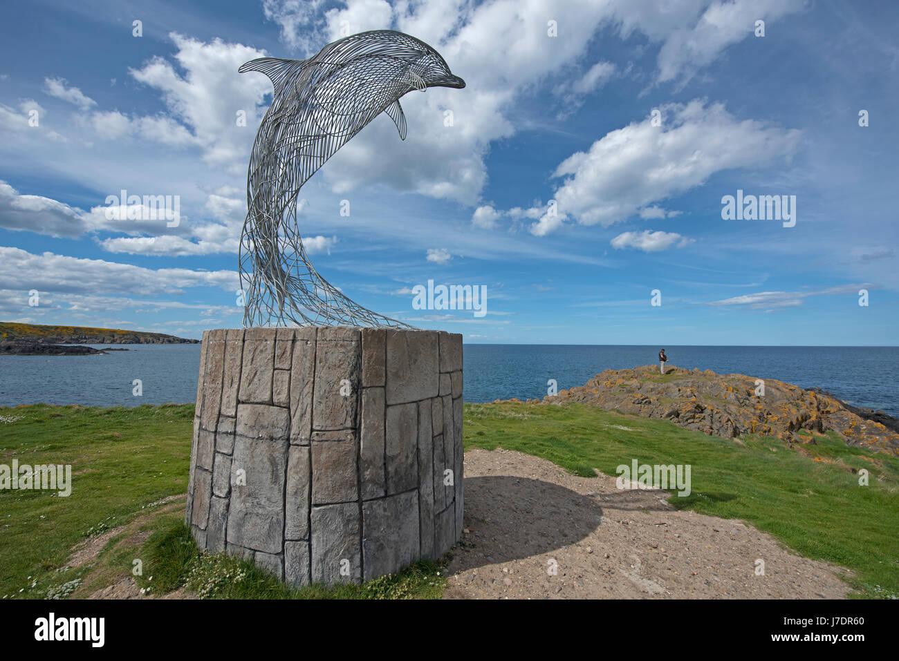 Portsoy Banff et Buchan, l'Aberdeenshire. L'Écosse. UK. Photo Stock