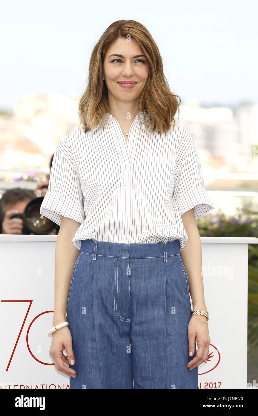 Cannes, Frankreich. 24 mai, 2017. Sofia Coppola au 'la séduisit/Die Verführten' photocall au cours de la 70e édition Banque D'Images