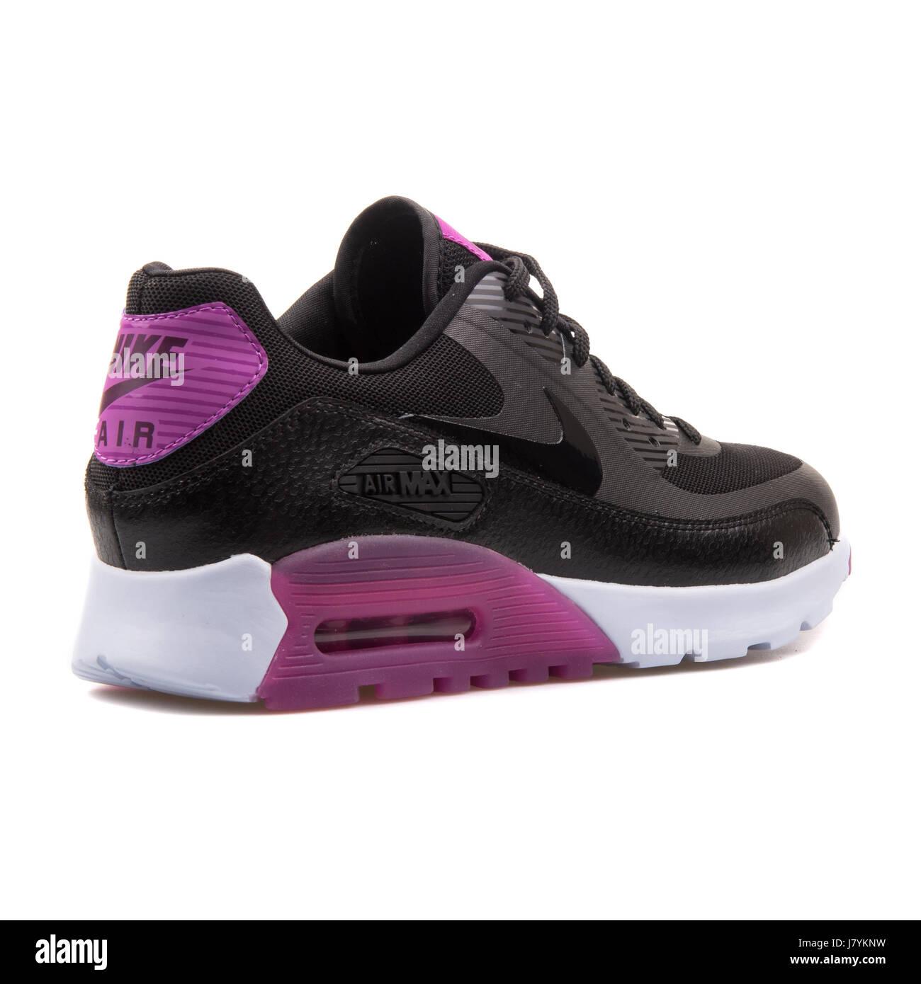 W Nike Air Max 90 femmes essentiel ultra violet et noir ...