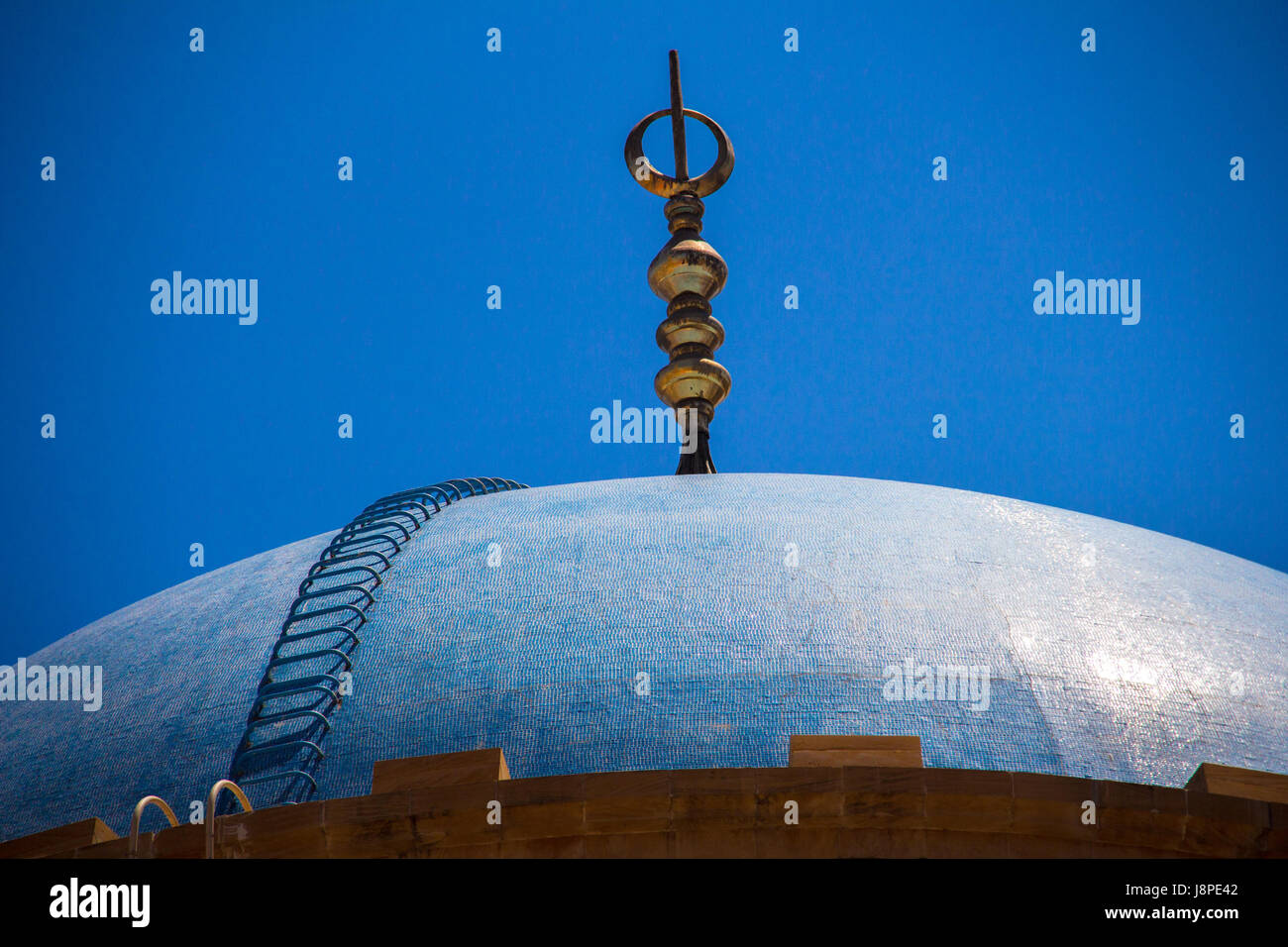 Mohammed Al Amin Mosque, Marfaa, Beyrouth Photo Stock