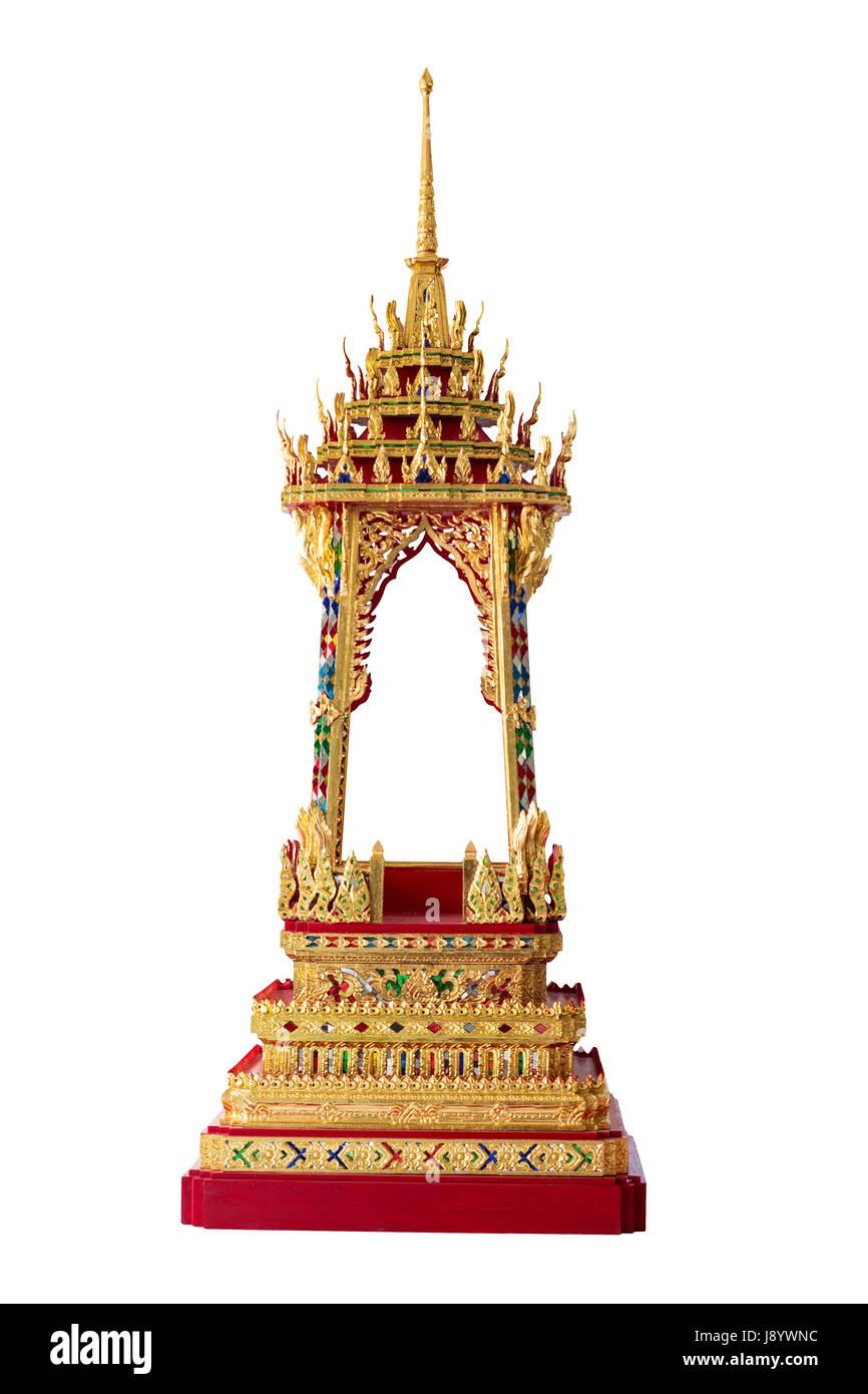 L'architecture religieuse, Mondop bouddhiste qui n'importe qui pouvait construire sans en demander la permission Photo Stock