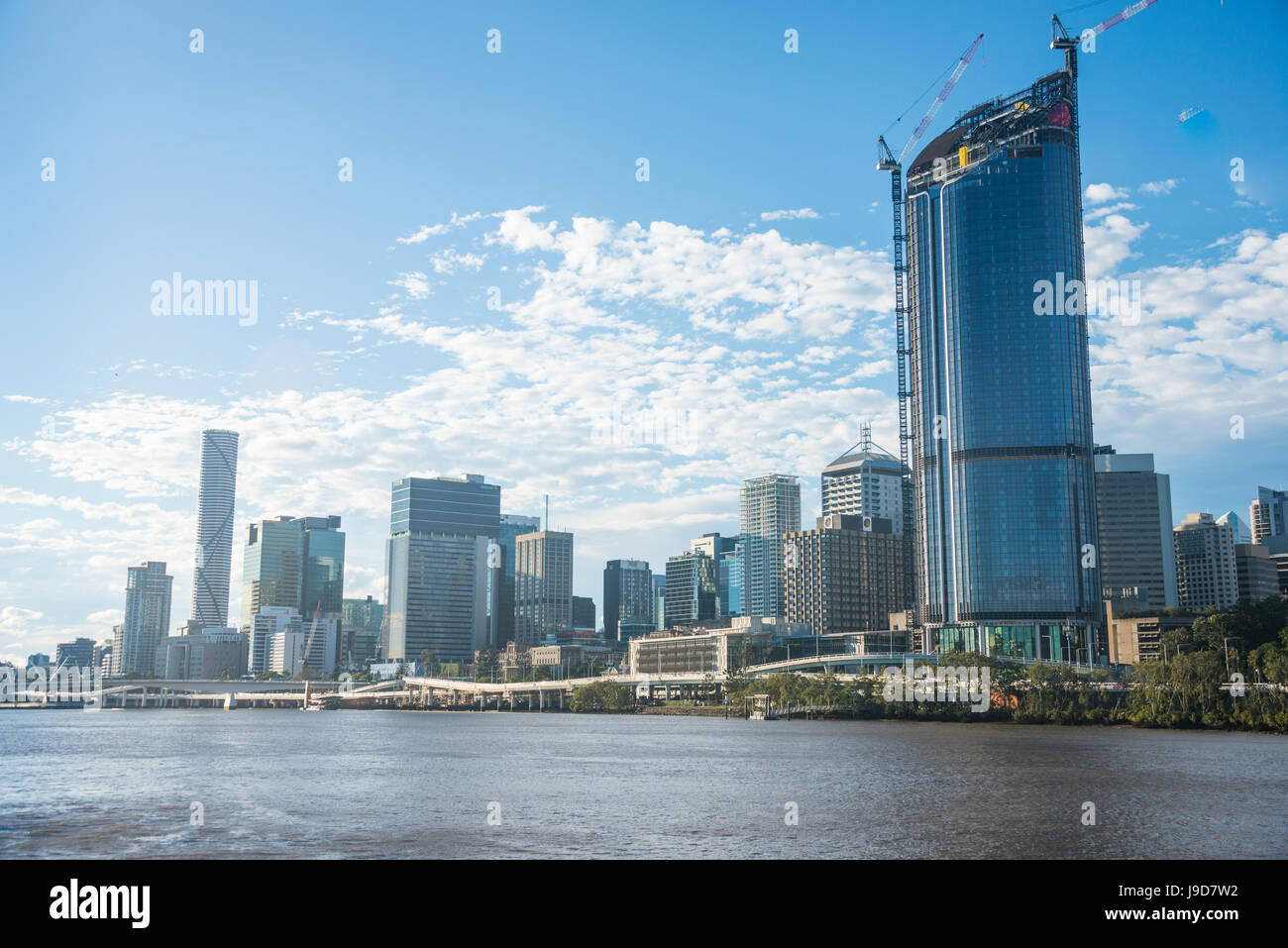 Le quartier central des affaires de Brisbane, Queensland, Australie, Pacifique Banque D'Images