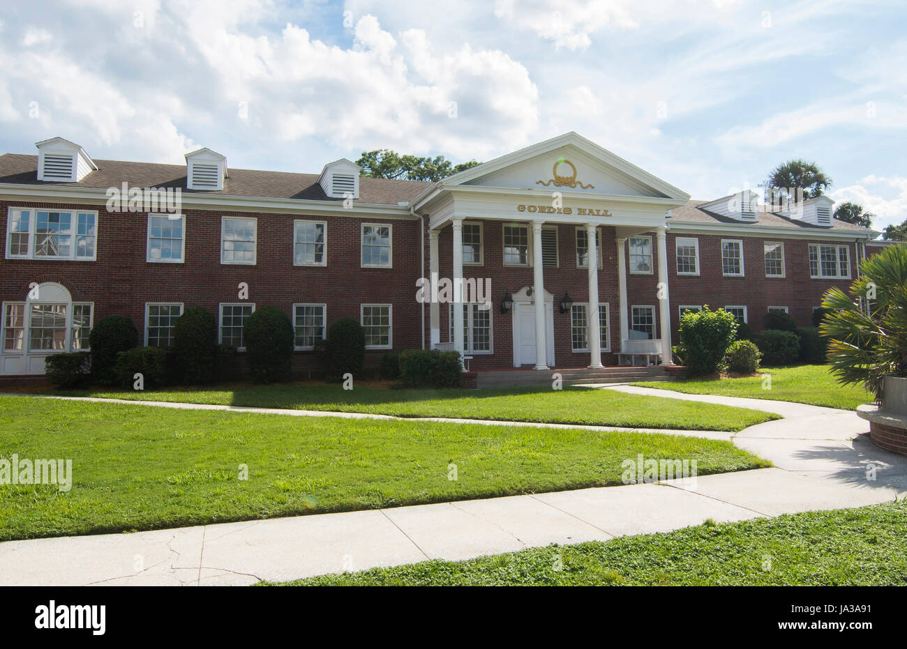 Deland Florida Stetson University college Gordis Hall dorms dans petite ville , Banque D'Images