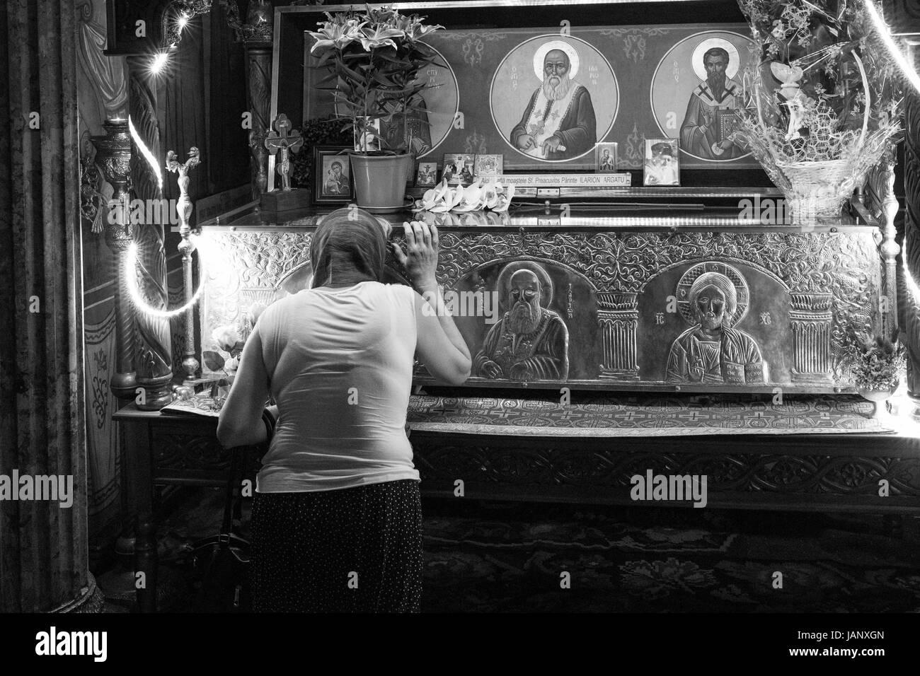 Province Roumaine et de la campagne, la vie quotidienne, les coutumes, les activités quotidiennes et de théâtre. Photo Stock