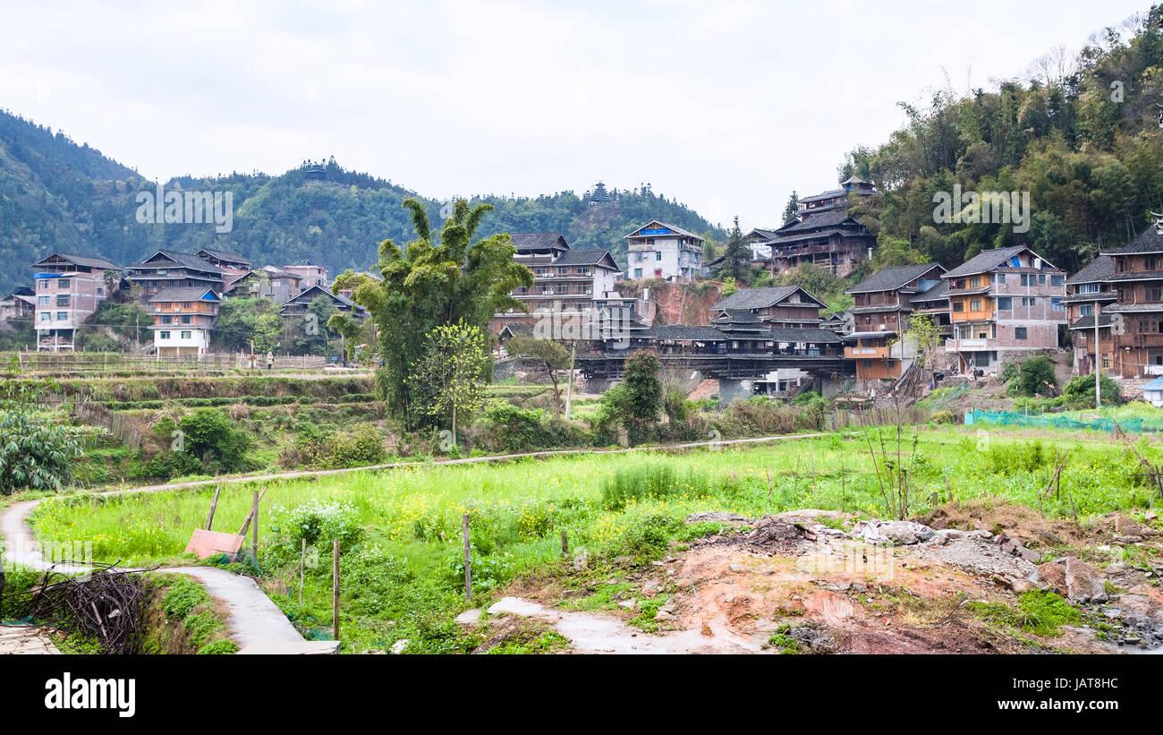dong village photos dong village images alamy. Black Bedroom Furniture Sets. Home Design Ideas