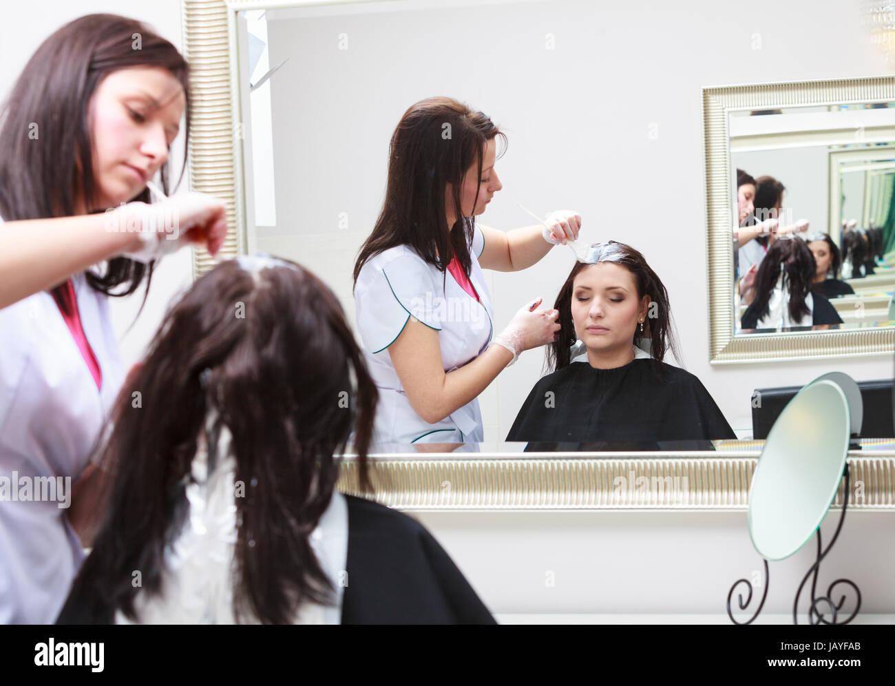 Cours de coiffure pour femme