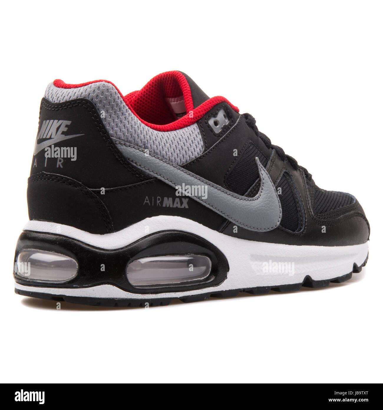 Nike Air Max Max Max Command (Gs) Noir  Gris Et Rouge Chaussures De Sport 166fbf