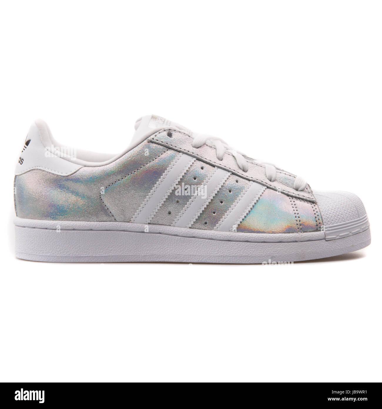 adidas superstar holographique - femme chaussures