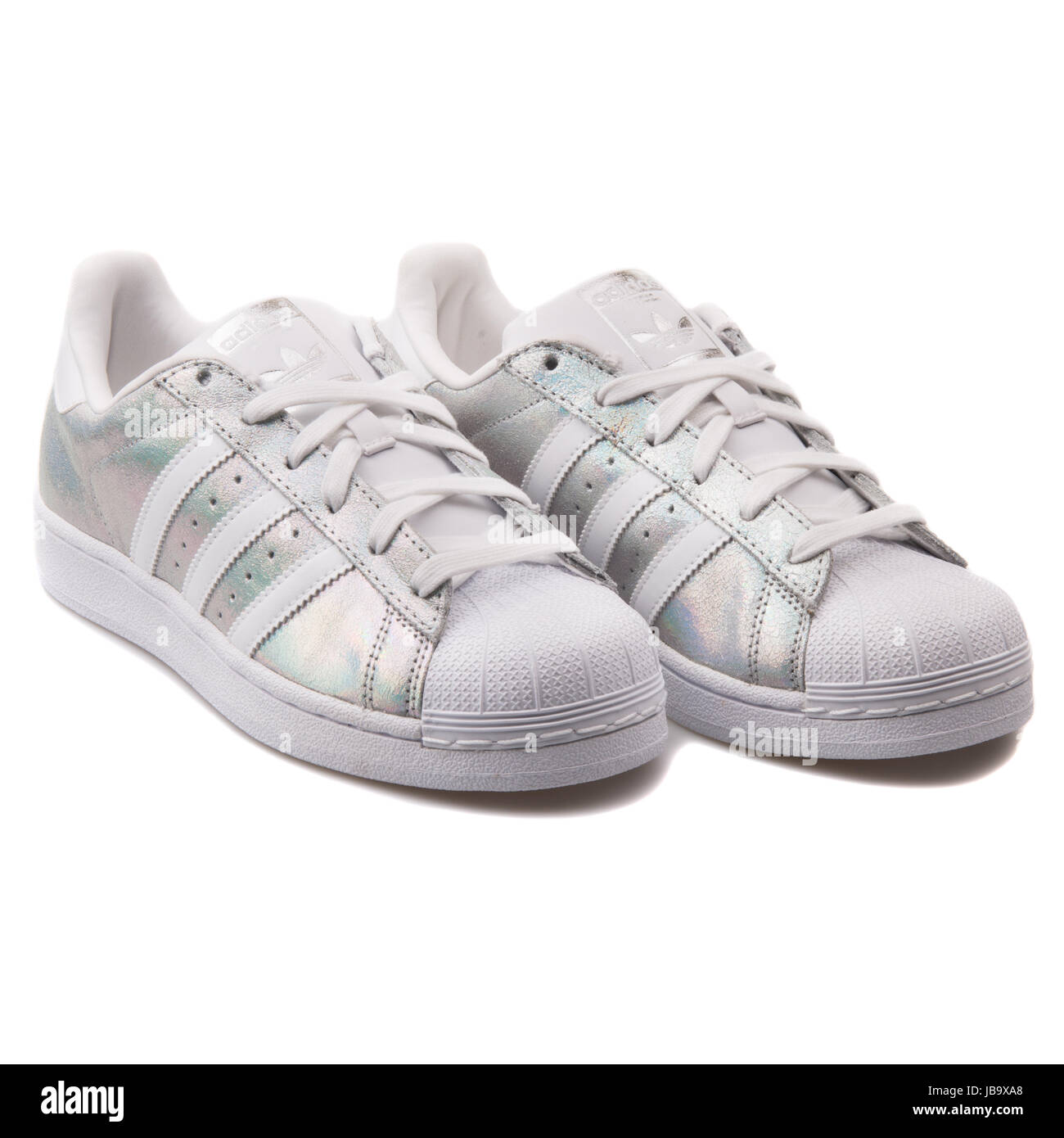 adidas superstar holographique - femme chaussures