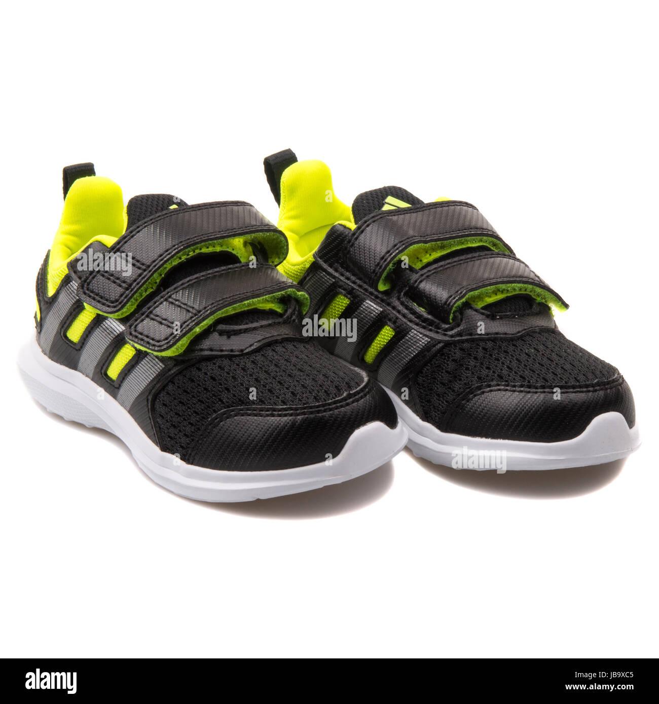 Hyperfast Noir Jaune Fluo I 2 Enfants Et Adidas Chaussures De 0 Cf XUdwxqTC