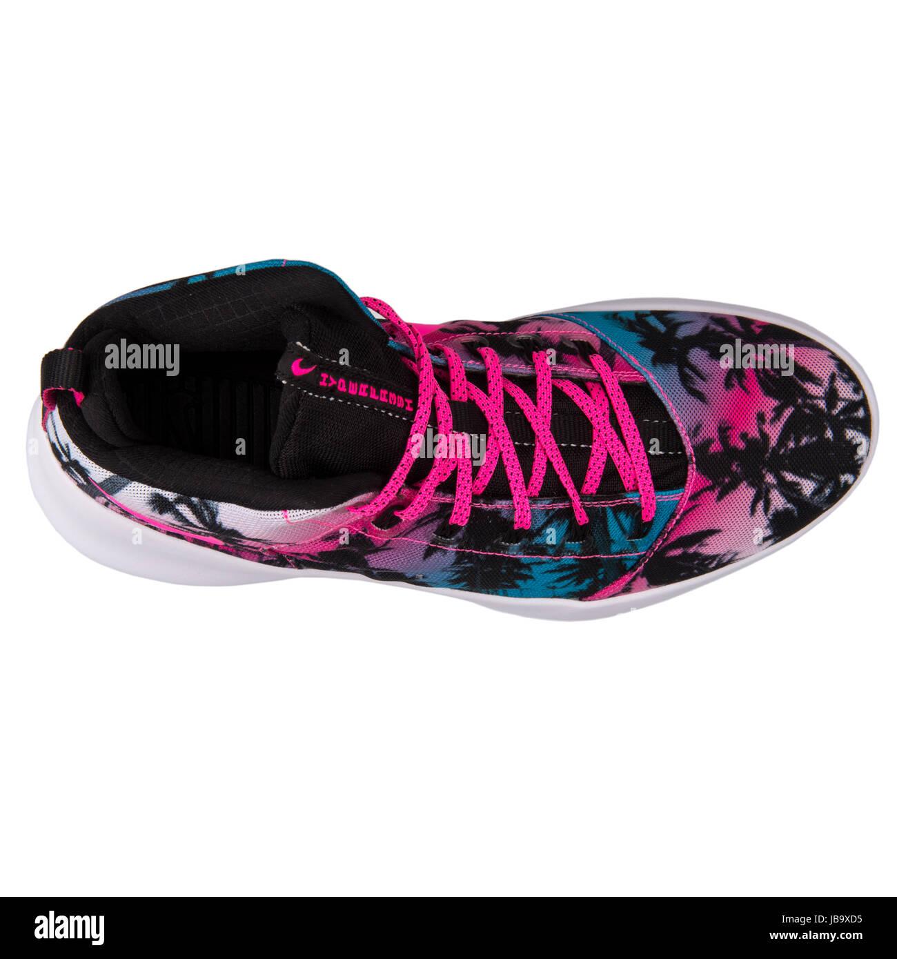 best website 4560e 87331 Hyperfr Nike3sh QS Lagon bleu, rose Blast Mens Basketball Shoes - 808781- 400