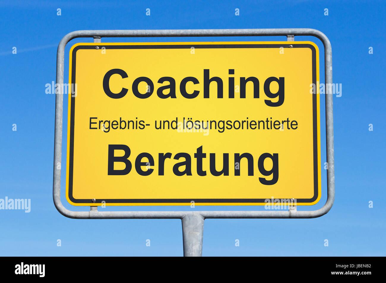 Coaching Banque D'Images
