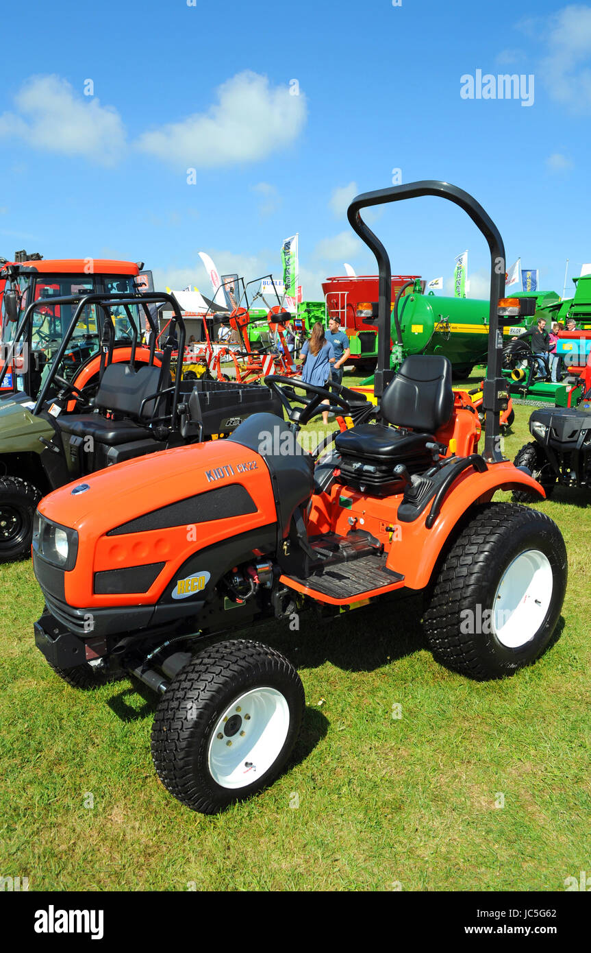 Les véhicules agricoles agriculture machinery plant hire show ventes Photo Stock