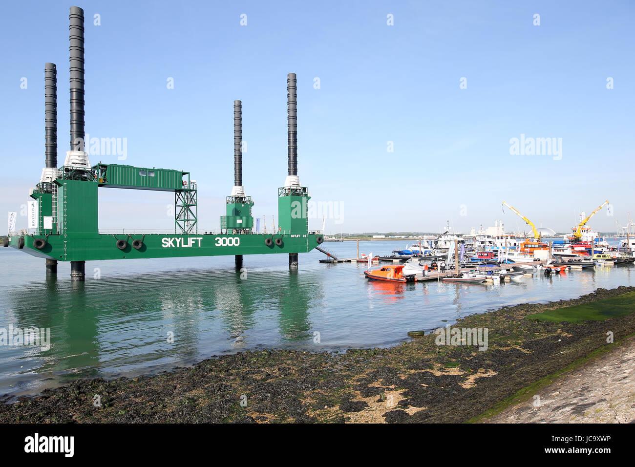 Southampton, UK. 14 Juin, 2017. Seawork International, 2017, Parc Mayflower, Southampton, UK Banque D'Images