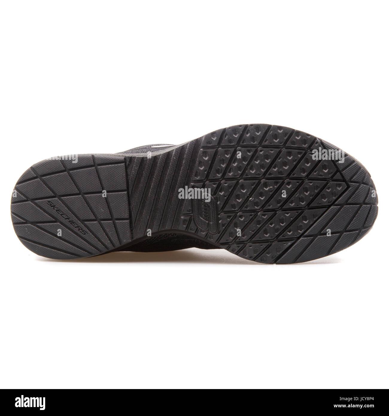 625c67297a2c38 Skechers Skech-Air l'infini des femmes noir chaussures running - 12111-BBK