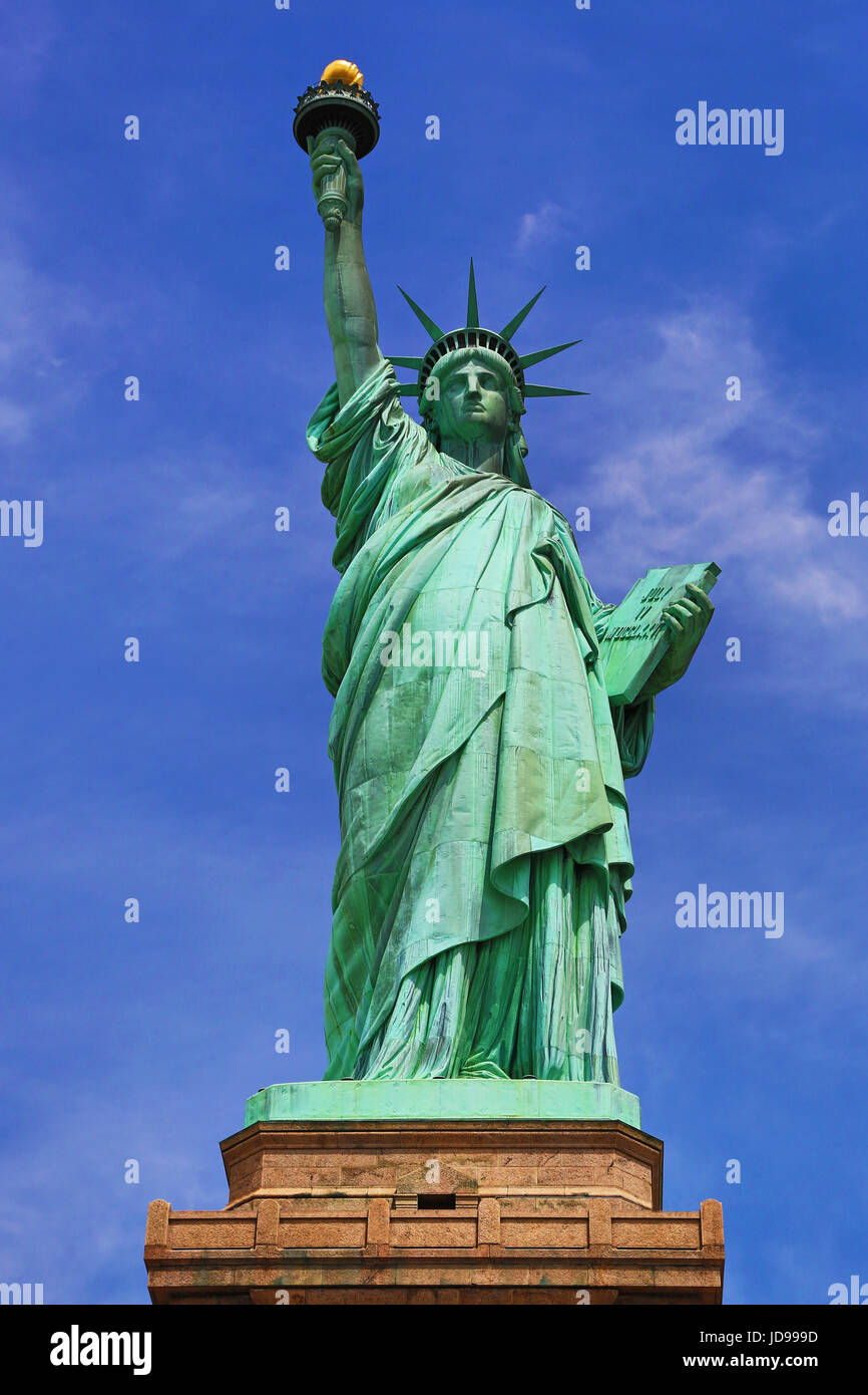 La Statue de la liberté, New York City, New York, USA Photo Stock
