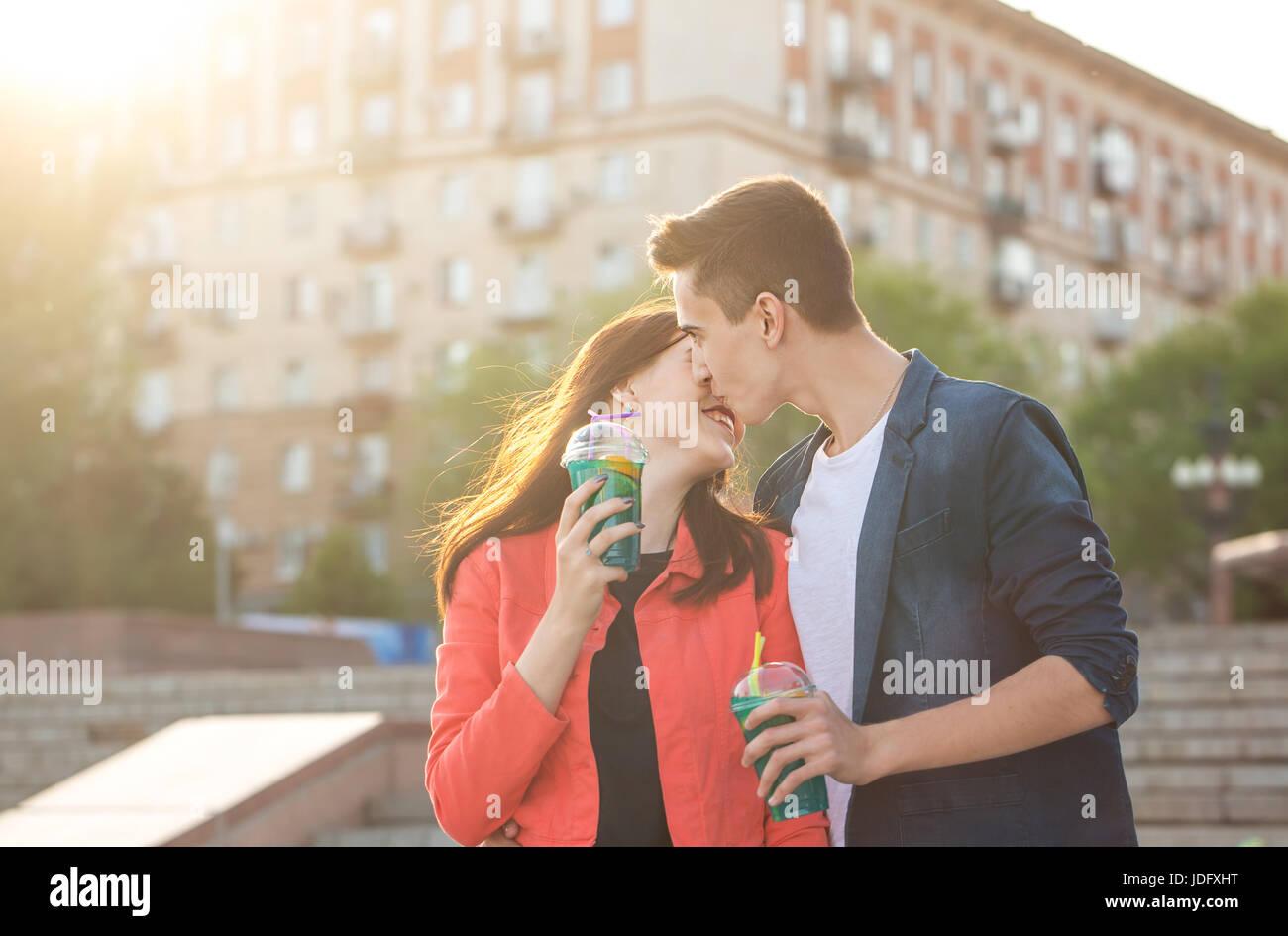 Christian Dating baiser sur la première date