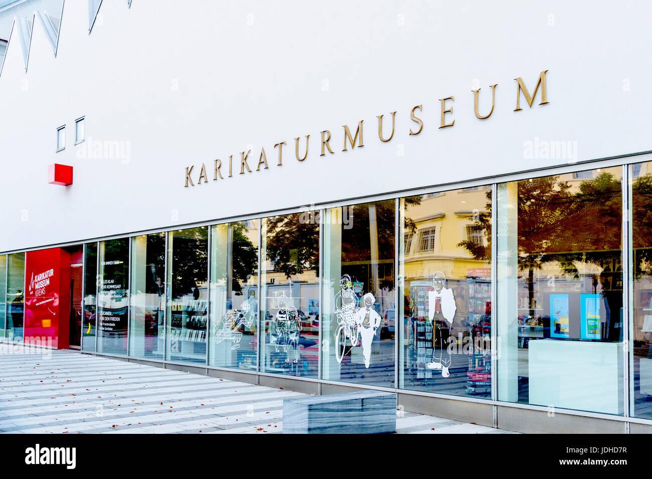 Karikaturmuseum Krems, Wachau, Niederösterreich; musée de la caricature, Krems, Wachau Autriche Banque D'Images