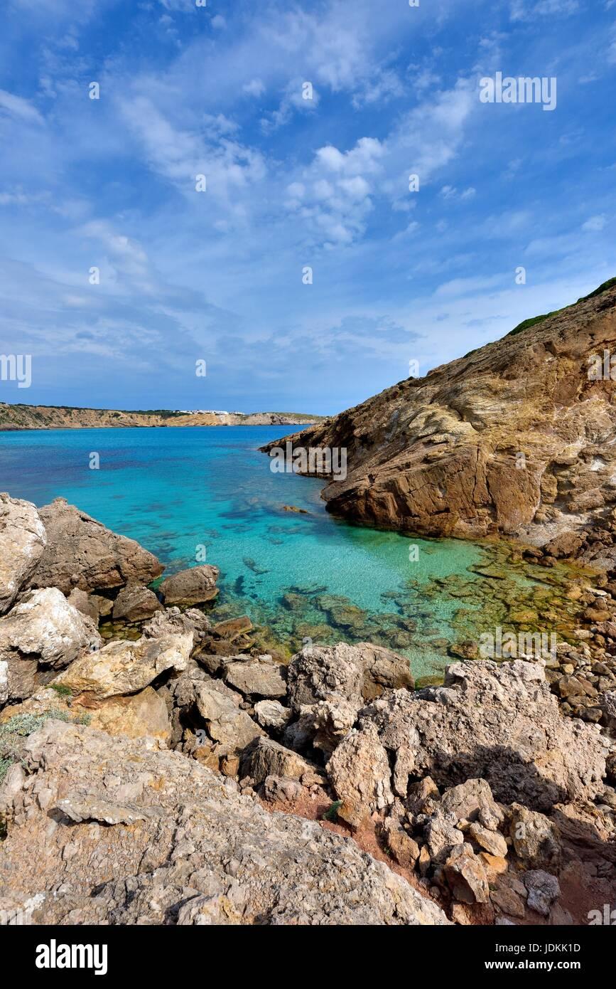 Minorque Espagne Photo Stock