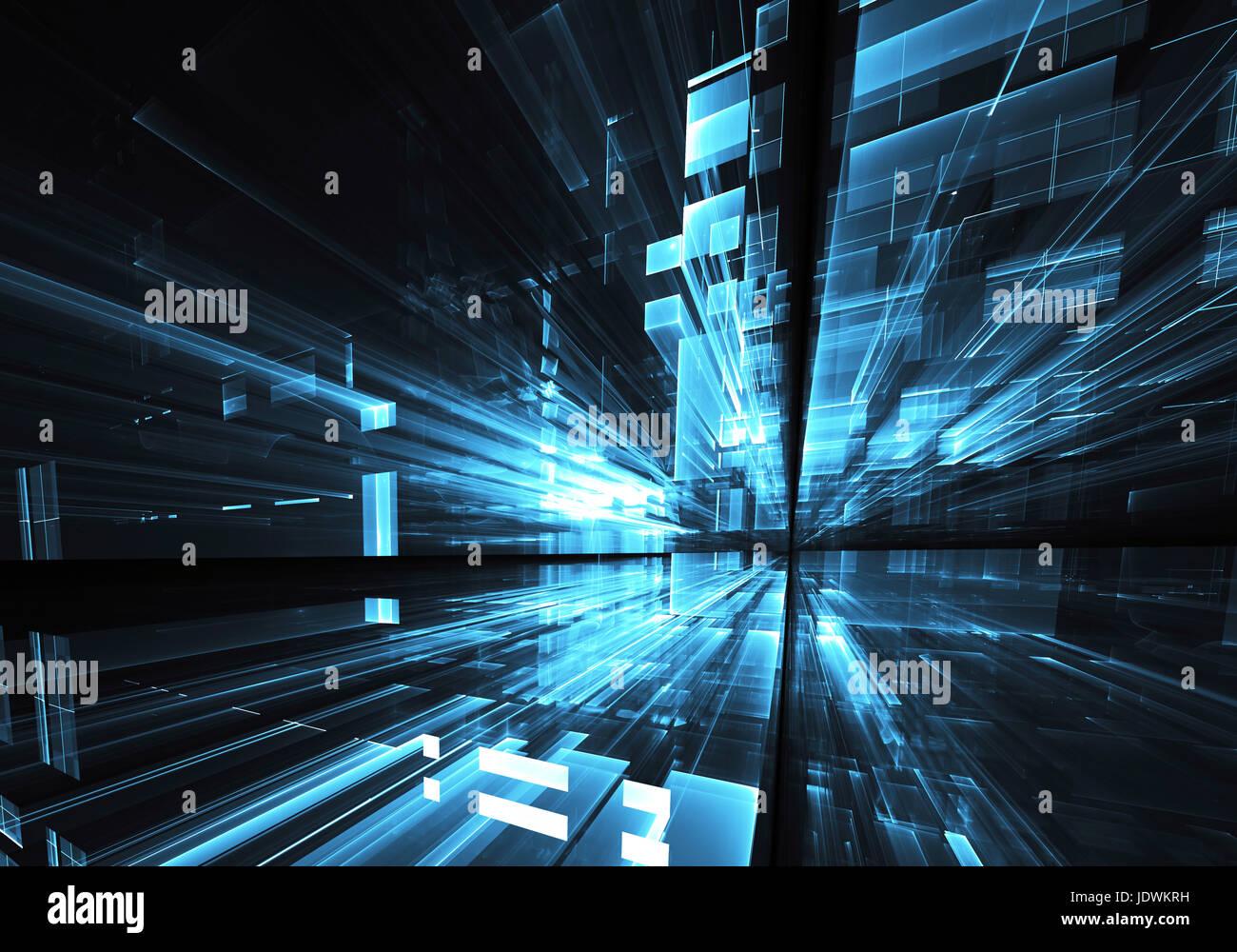 Resume De Droit De La Technologie Informatique Texture Fractale En Trois Dimensions 3d Illustration Photo Stock Alamy