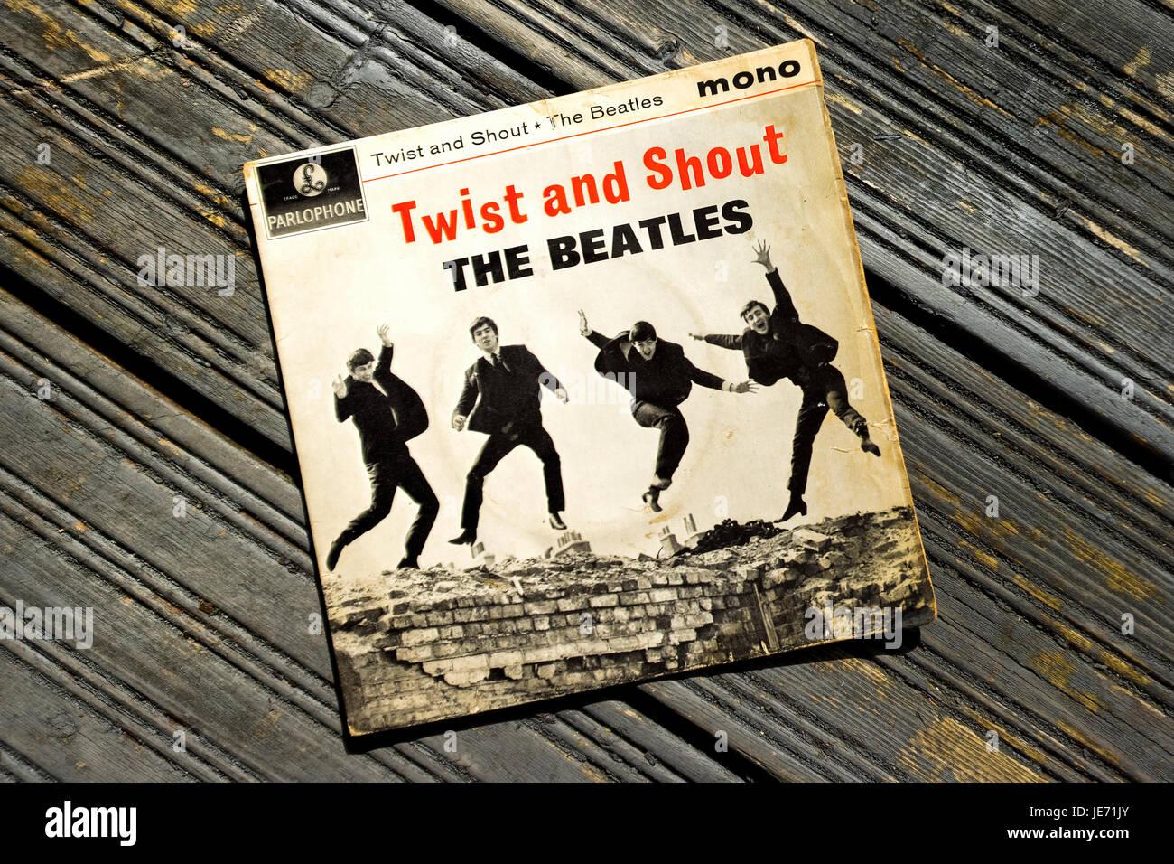 Seul l'enregistrement des armes d'abord été publié le 22 mars 1962 sur le label Parlophone Photo Stock