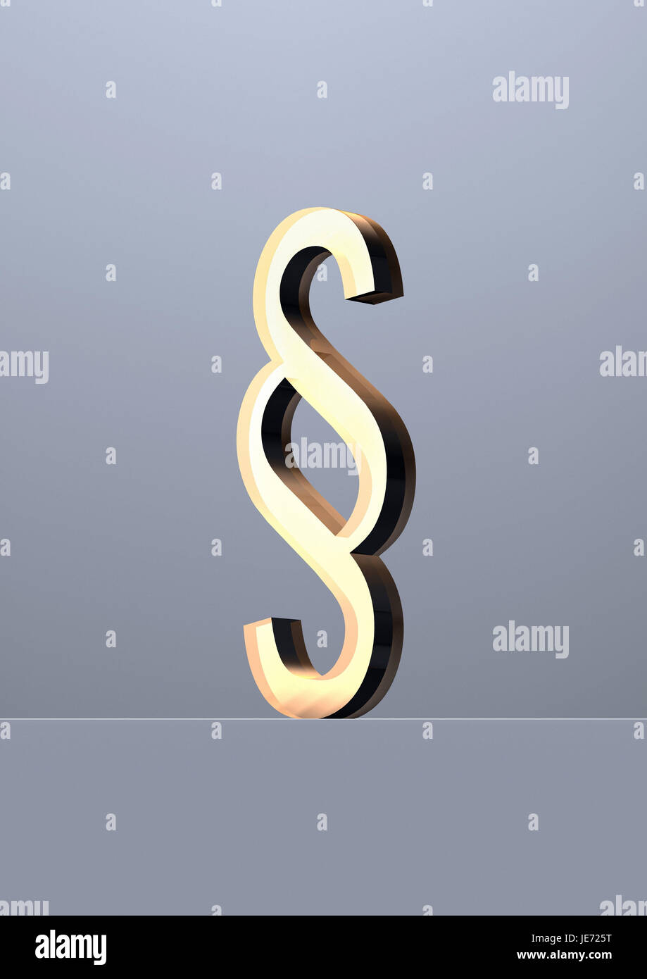 Paragraphe caractères, Banque D'Images