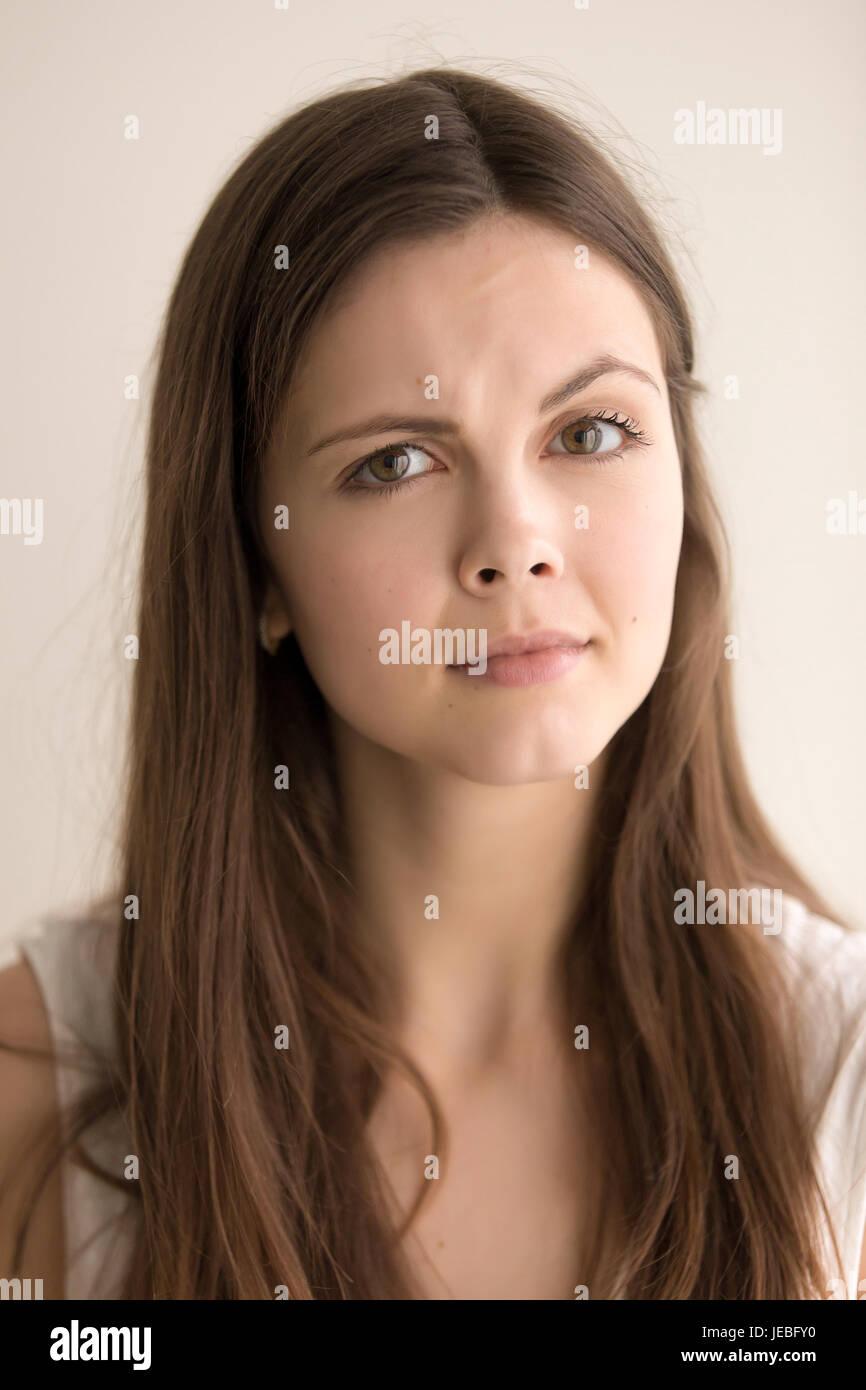Portrait Portrait de jeune femme Banque D'Images