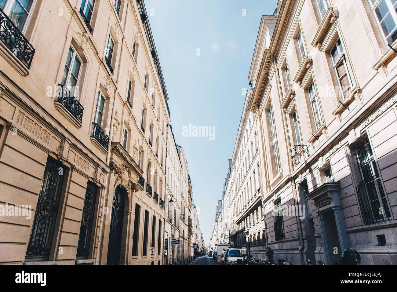 Rues de Paris Banque D'Images