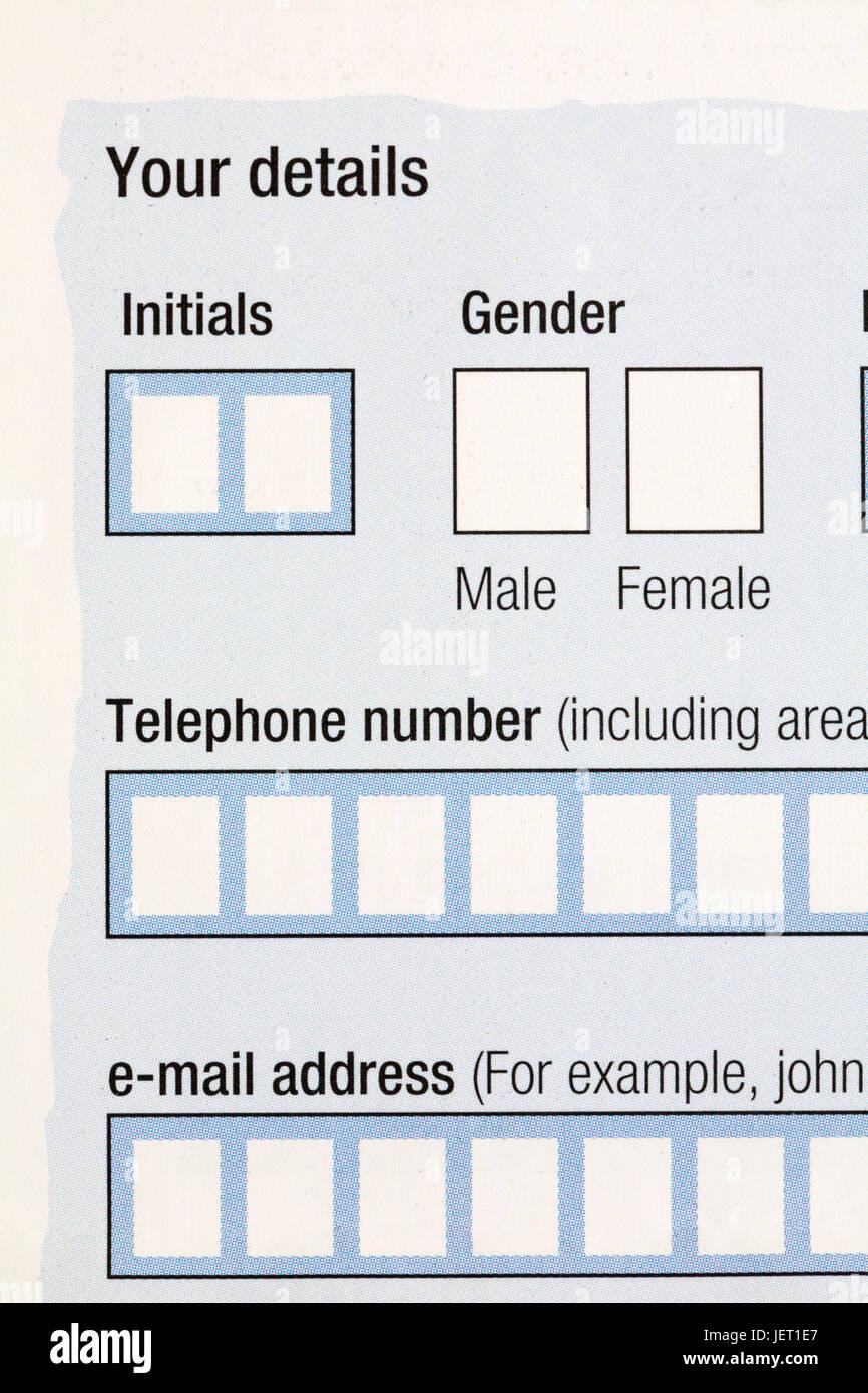 option masculin ou féminin