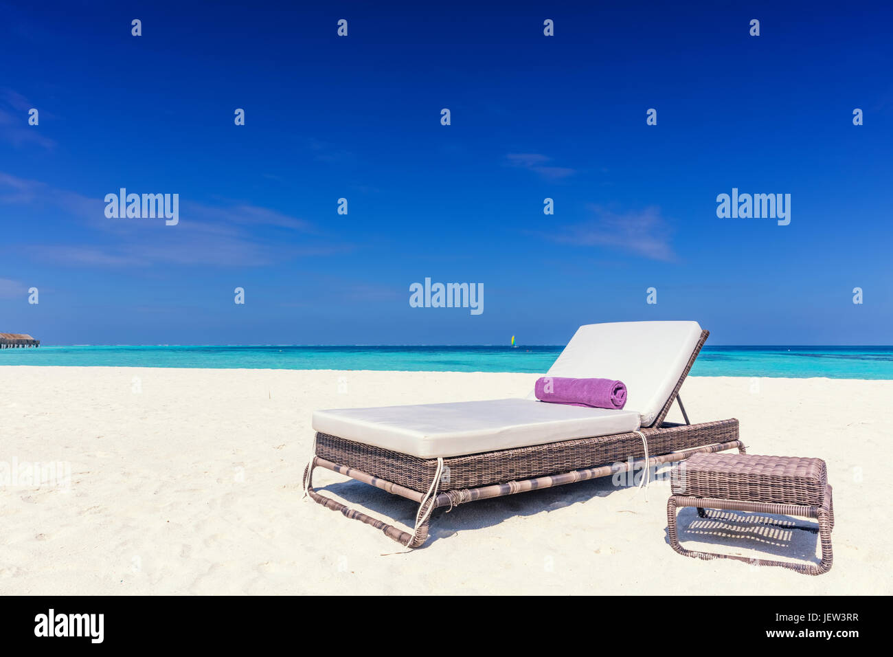 Aux Resort Island Longue Un Beacha Tropical Sur Sandy Petit Chaise HW9YEDI2
