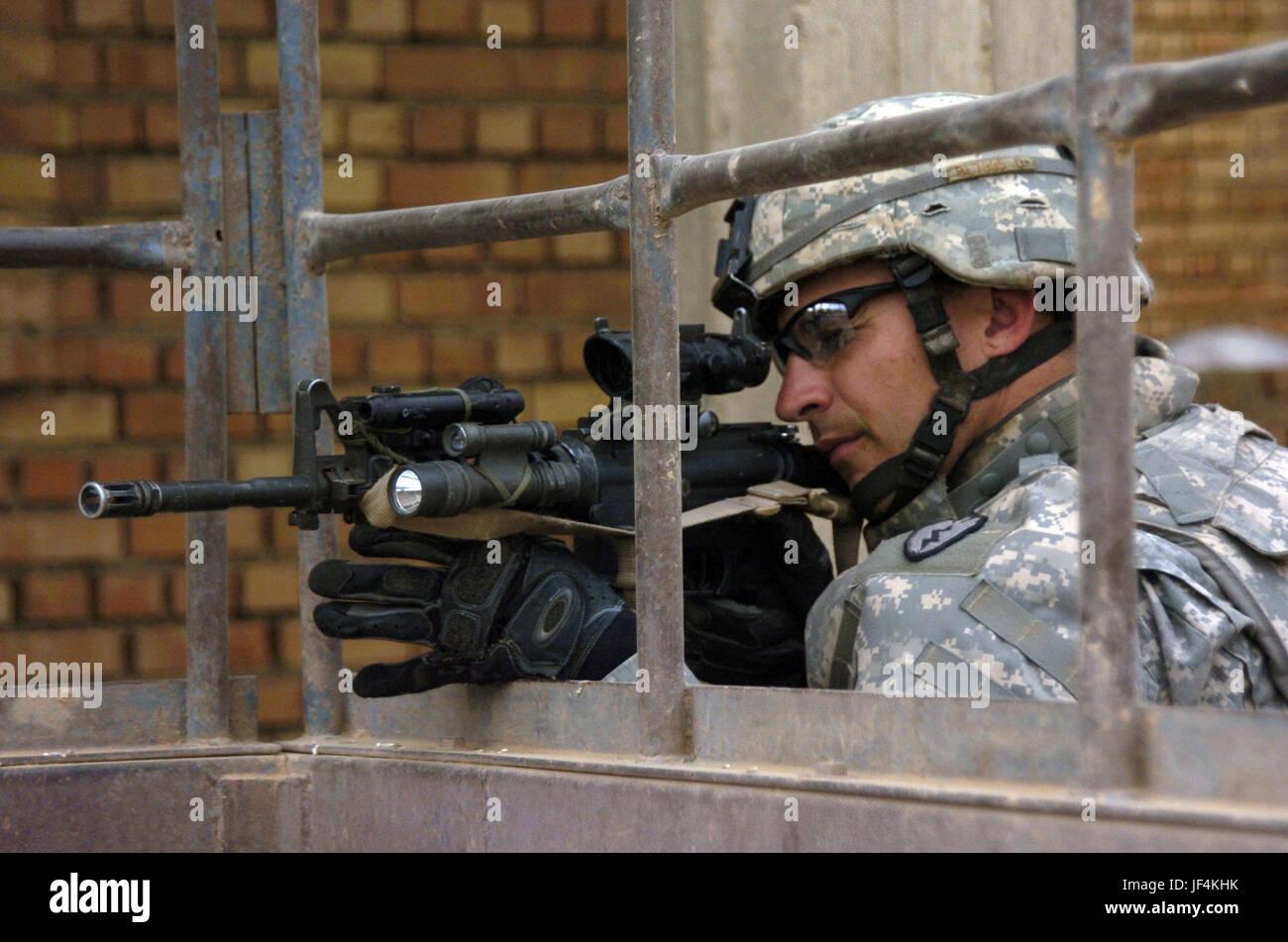 061115-A-2519G-063 de l'armée américaine de la CPS. Bruce de Blachly Société Delta, 2e Bataillon, Photo Stock