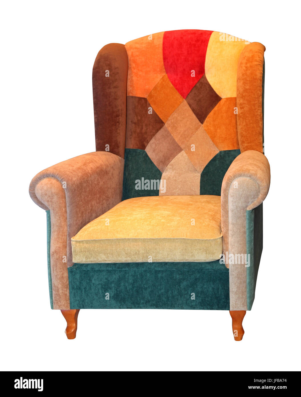 Fauteuil Patchwork Photo Stock