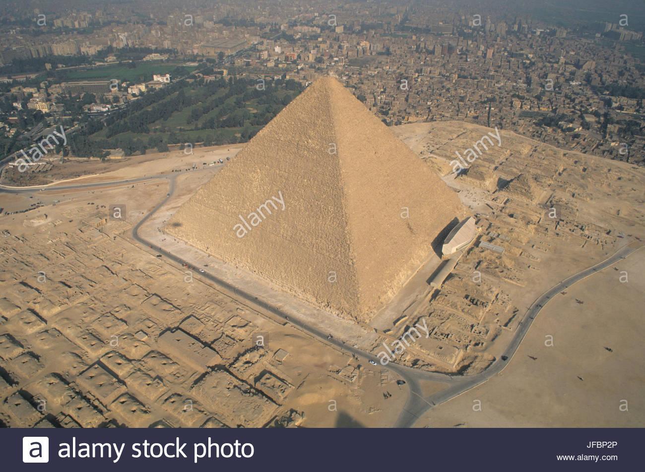 La pyramide de Chéops. Photo Stock