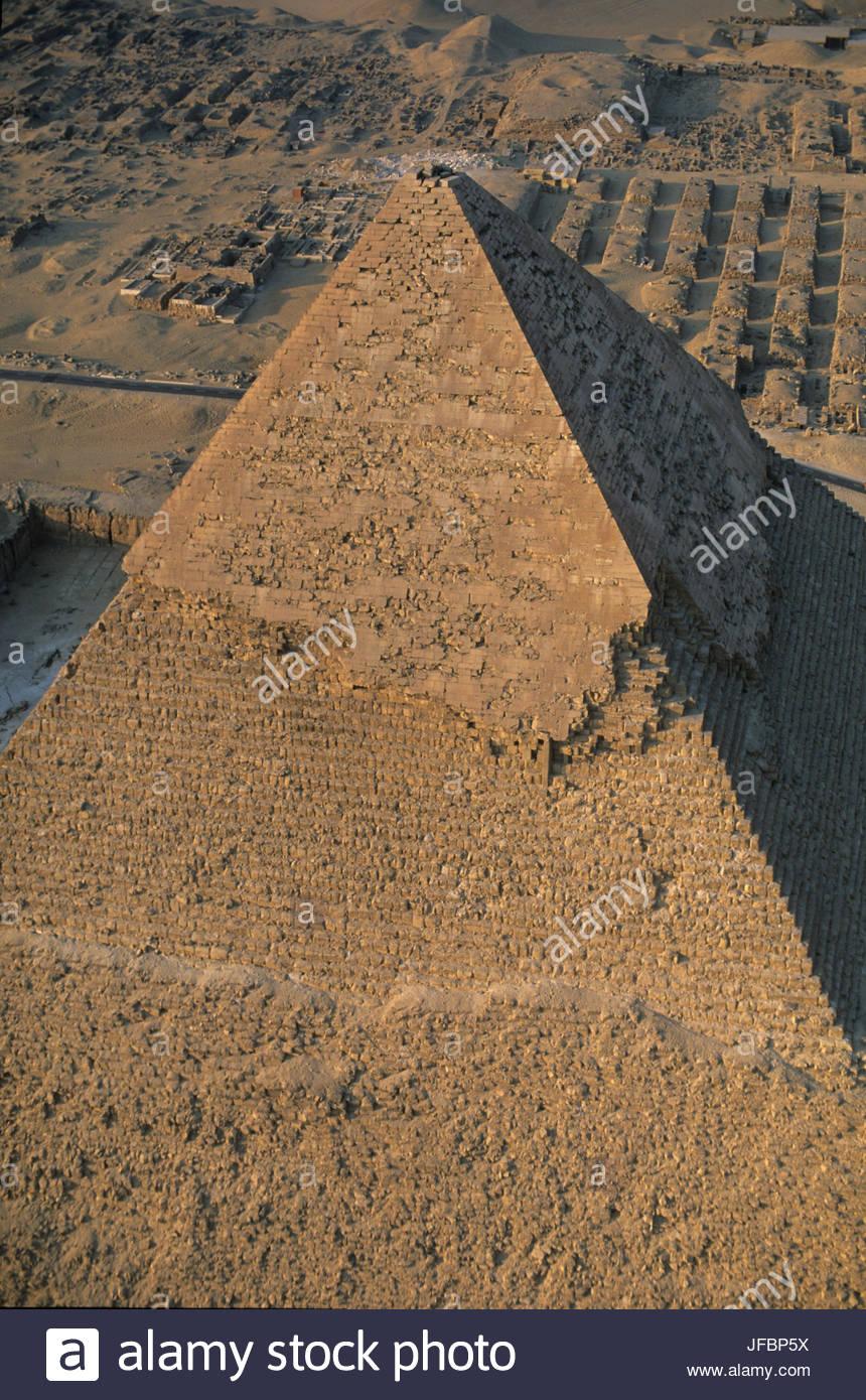 La pyramide de Khafré. Photo Stock