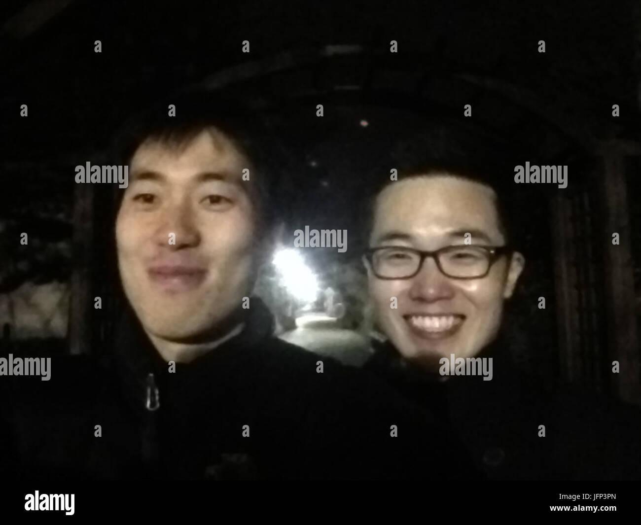 2012-04-08 .46.10 BCE59BCAPI491EBAAA8 Choe Kwangmo s iPhone Photo Stock