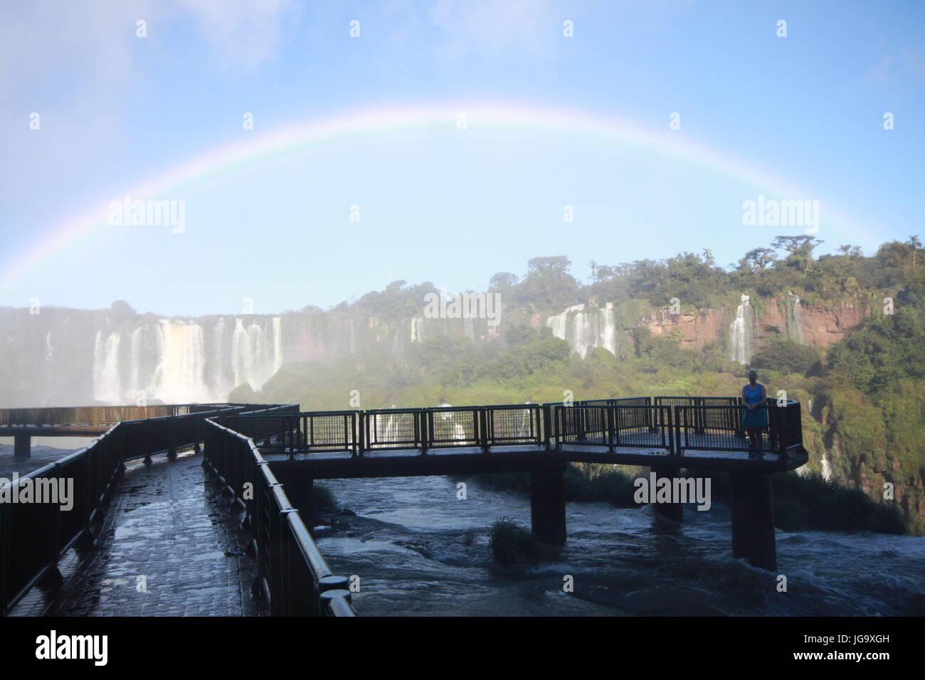 Chutes d'Iguaçu Banque D'Images