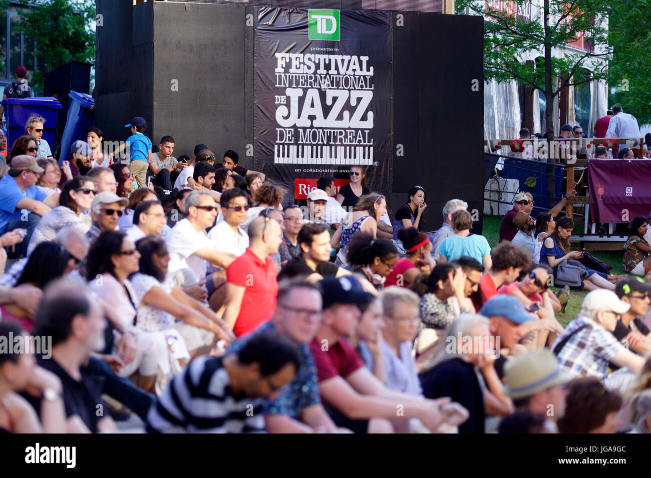 montreal place des festivals photos montreal place des festivals images alamy. Black Bedroom Furniture Sets. Home Design Ideas