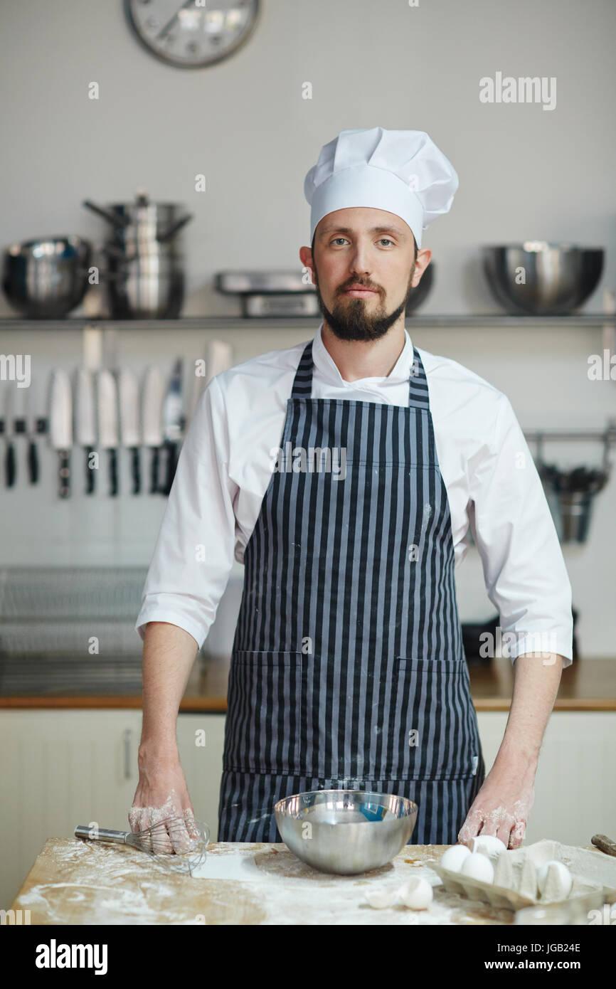 Baker par lieu de travail Photo Stock