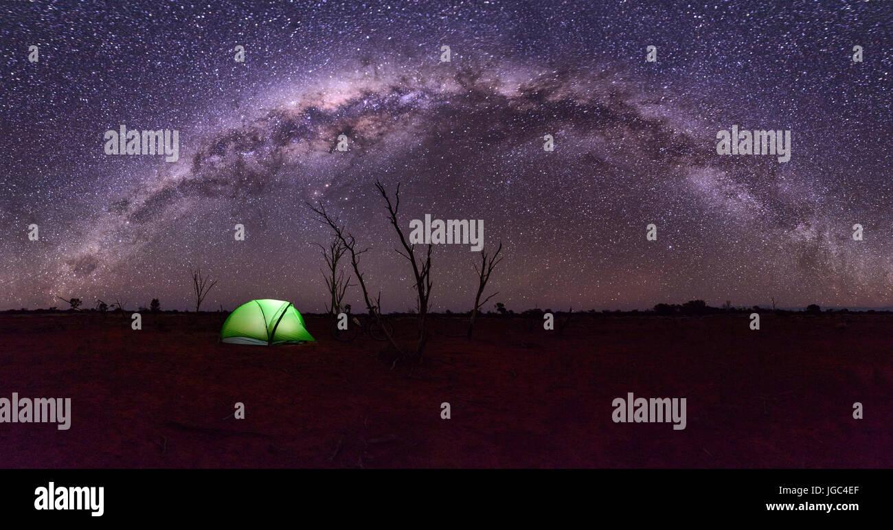 Camping en Australie Photo Stock