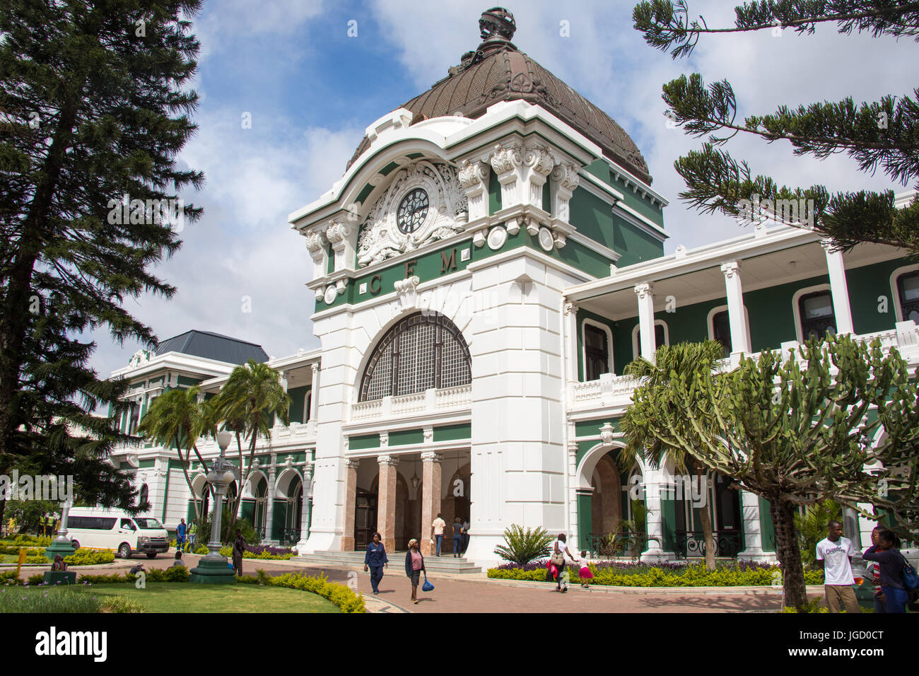 Gare, Maputo, Mozambique Photo Stock